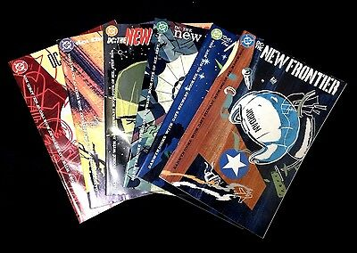 DC New Frontier #1-6 of 6 COMPLETE MINI SERIES SET!!! Comics 2004 Darwyn Cooke