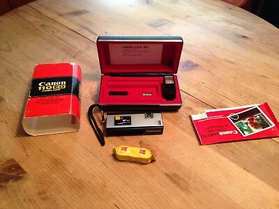 Canon 110ED Camera Outfit Set Vintage