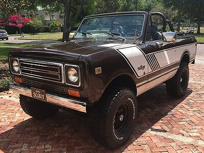 1979 International Harvester Scout  1979 International Scout