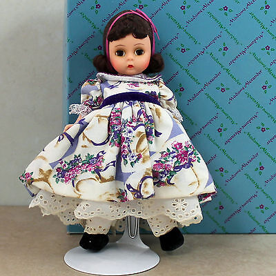 """Madame Alexander Doll  - 14129 Mother's Day (Brunette), 8""""H w/box"""