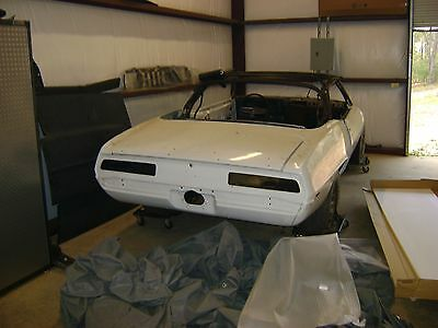 1969 Chevrolet Camaro  1969 Camaro SS LS1 Convertible Katrina Tribute Project Car
