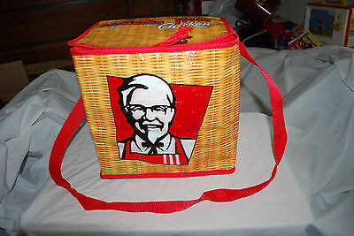 Kentucky Fried Chicken Cooler Bag  Insulated Promo Hot Or Cold Fast Food