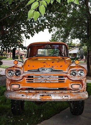 1958 Chevrolet Other Pickups  58 Chevy Apache Truck Napco 4x4 truck