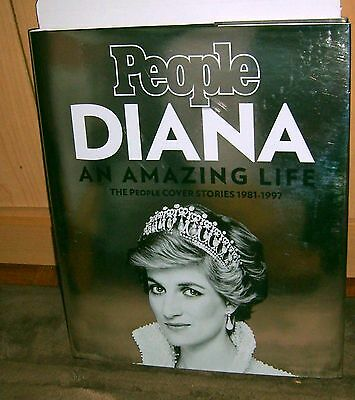 People Diana AN AMAZING LIFE The People Cover Stories 1981-1997 Hardcover Book