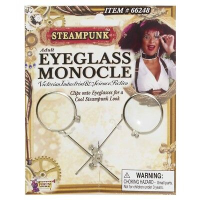 Steampunk Eyeglass Monocle Clip Costume Accessory Adult Halloween