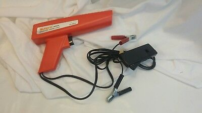 Actron Sunpro clamp on inductive timing light gun model cp7504 DC powered
