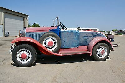 1930 Ford Model A Roadster, California Car 1930 Ford Model A Roadster, California Car