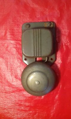 Vintage Telephone Wall Mount Ringer Electric Bell