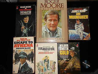 Roger Moore Book Collection