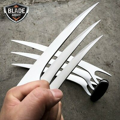 2Pcs New X-Men Wolverine Blade Claws High Quality of Refinement Cosplay USA NEW