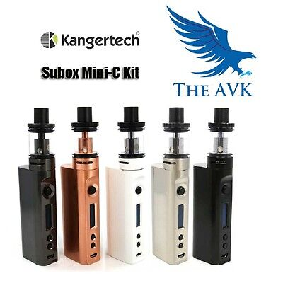 Authentic KangerTech Subox Mini-C Starter Kit 50W Kanger SubTank Vape Protank 5