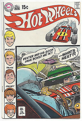 Hot Wheels #1 (VF/NM) 1970, Alex Toth art