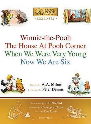 NEW Winnie-The-Pooh Boxed Set By A A Milne Audio CD Free Shipping
