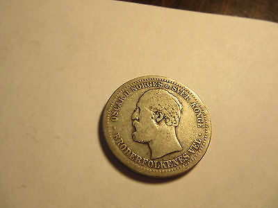 Norway Krone, 1877 a Rare coin