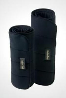 """BACK ON TRACK Horse No Bow Leg Wraps Heat Therapy Relieves Aches Pains Pair 14"""""""
