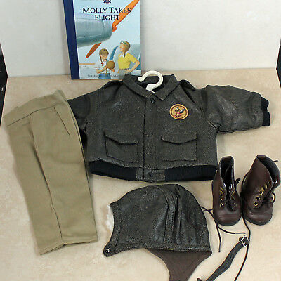 American Girl Doll, Molly's Aviator Outfit Pleasant Company, w/ box