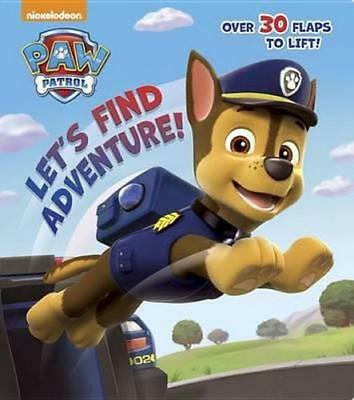 NEW Let's Find Adventure! (Paw Patrol) By Random House Board Book Free Shipping