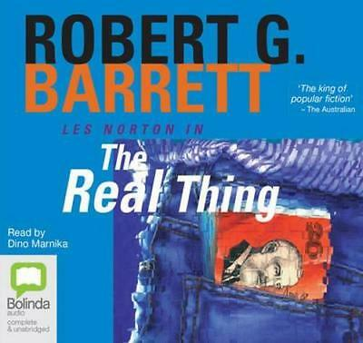 NEW The Real Thing By Robert G. Barrett Audio CD Free Shipping
