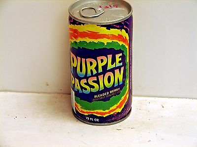 Purple Passion; Canada Dry Bottling Company; Atlanta, GA; steel soda pop can