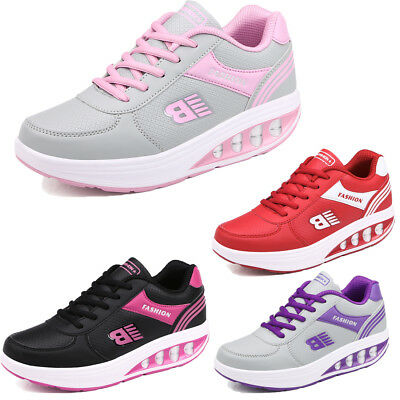 Women Casual Running Trainers Walking Jogging Shock Absorbing Sports Shoes New