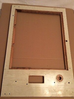 NISHIJIN PACHINKO MACHINE Pinball Misc. Parts Face Board Frame Cover Wood Panel