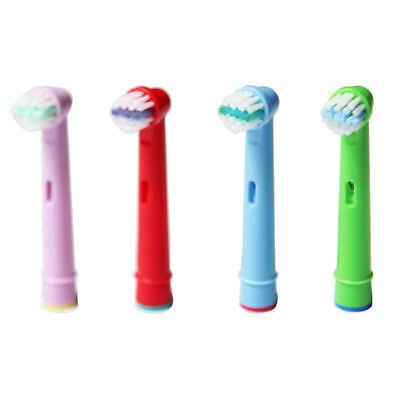 4pcs Generic Oral-B Braun Kids Stage Electric Professional Toothbrush Heads AU