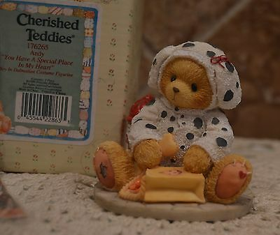 Cherished Teddies~Andy~You Have A Special Place In My Heart~1996~Dalmation~Cute!