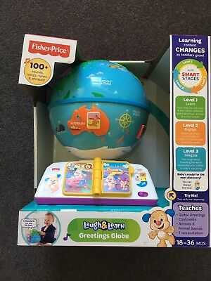 Fisher Price Laugh Learn Globe