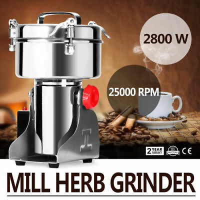 1000G Electric Herb Grain Mill Grinder Universal Coffee Beans Pepper Grinding