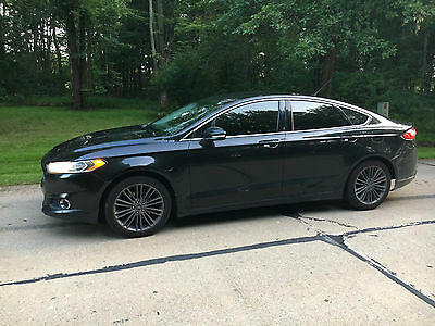 2013 Ford Fusion SE 2013 Ford Fusion SE Loaded 2.0 Turbo Sync Black No Reserve