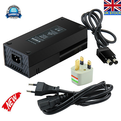 New Model Replacement Xbox One Power Supply Ac Adapter Mains Brick Uk Plug