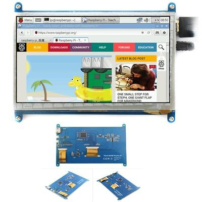 "5"" zoll TFT LCD 800*480 HDMI Touch Screen Display for Raspberry Pi G#"
