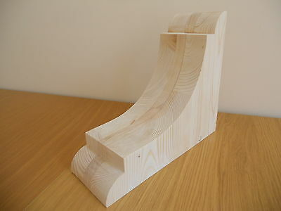 Medium Wooden Corbel Brackets