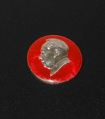 Large Size Vintage 1960's Chinese Chairman Mao Tse Tung Zedong Ping Badge Medal