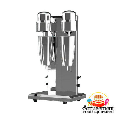 MILK SHAKE MIXER - Double Cup - Commercial Grade - New Model