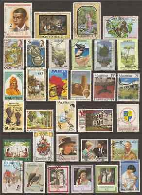 Mauritius Used Lot Of 32