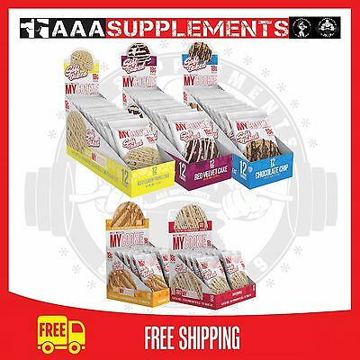 PRO SUPPS - My Cookie | BOX OF 12 | Meal Replacement Cookie | Protein Cookies