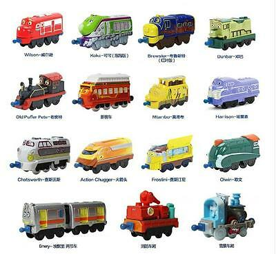 Learning Curve Chuggington Diecast Metal Toy Trains Loose Kids Toys Xmas Gifts N