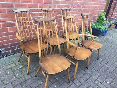 6 Ercol Goldsmith Chairs 369