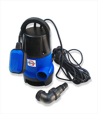 400W Submersible Dirty Water Pump Pond Cellar Farm Industrial Garden Irrigation