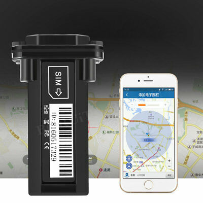 GSM GPS APP Gps Tracker Tracking System Car Vehicle Hidden Tracker Real Time 12V
