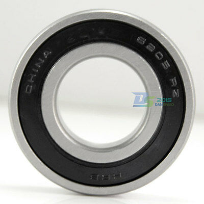 6200 - 6206 2RZ RZ Rubber Sealed Deep Groove Ball Bearings HRB Bearing
