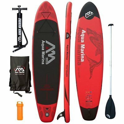 Aqua Marina Monster 12'0'' SUP Inflatable Paddle Board with Paddle