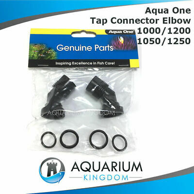 #10769N Aqua One Tap Connector Elbow - Aquis 1000 1200 1050 1250 Canister Filter