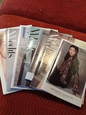 Neiman Marcus Mini Catalogs Set Of 7. All from 2016