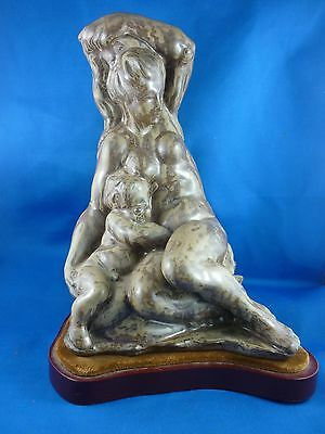 Exquisite  Rare Large  ~ 1978 - Lladro  Woman With A Baby 01012091