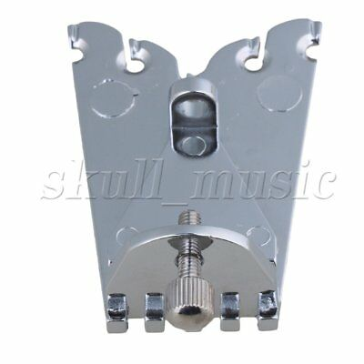 67 x 25mm Silver 5 String Banjo Tailpiece for Guitar Parts Replacement
