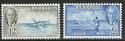 Barbados - 2 Mint Stamps from Old Album  - MH