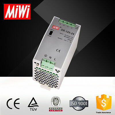 24 Vdc industrial power supply-Din rail-5 A-DR-120-24