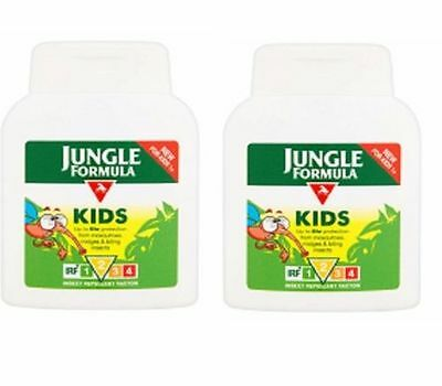 2 x Jungle Formula KIDS Insect Repellent 125ml